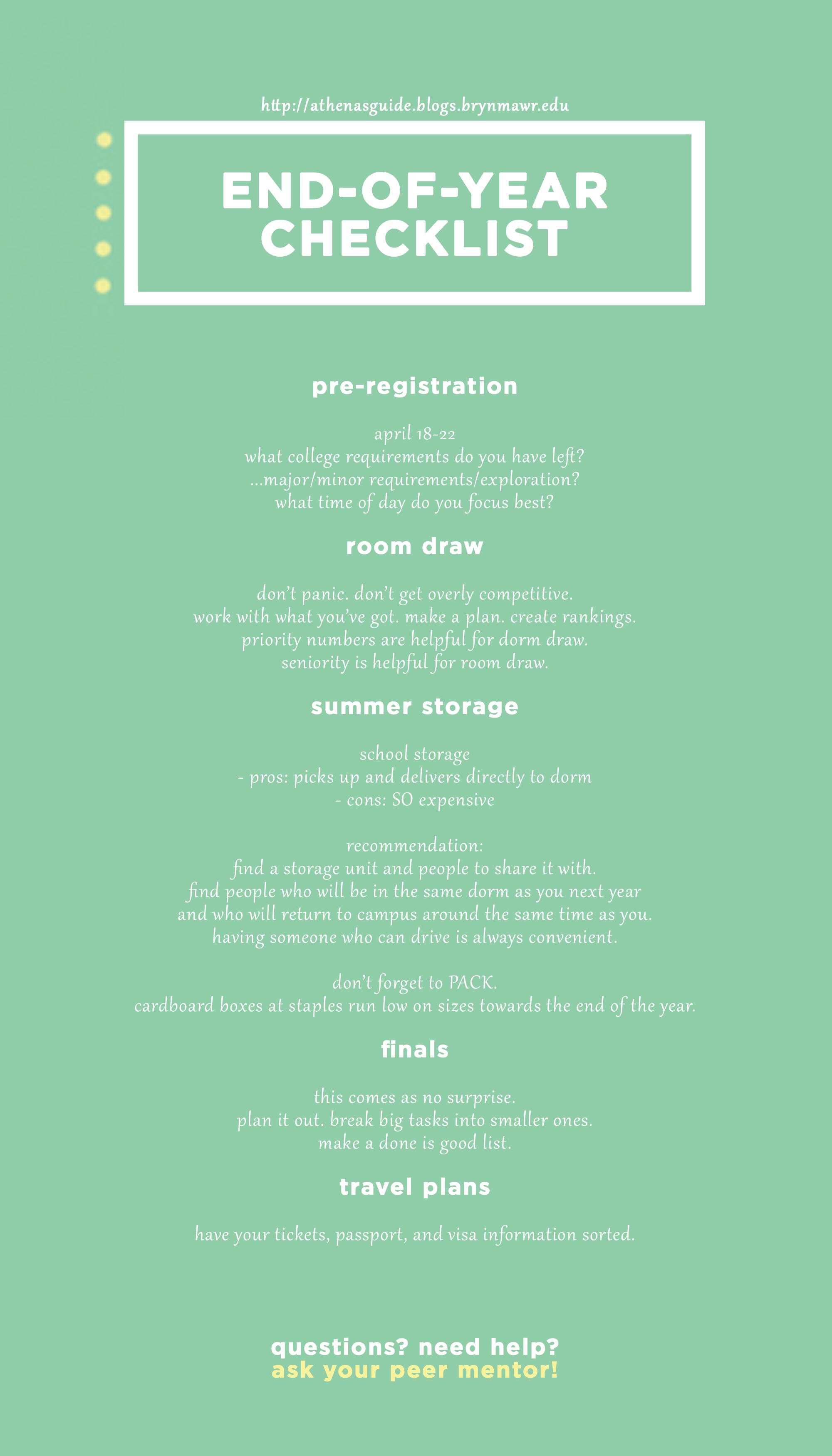 end of year checklist v2